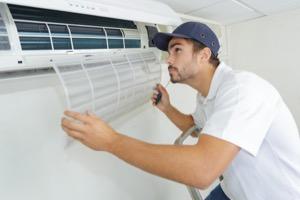 montering av värmepump